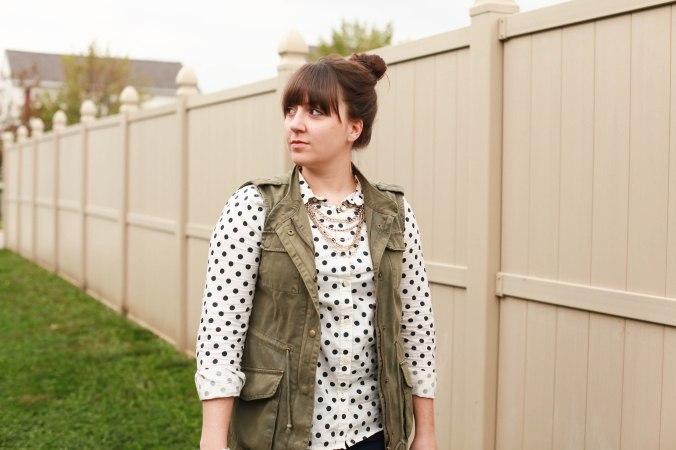 My Favorite Polka Dot Shirt