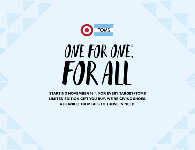 Target + TOMS Giving Opportunity