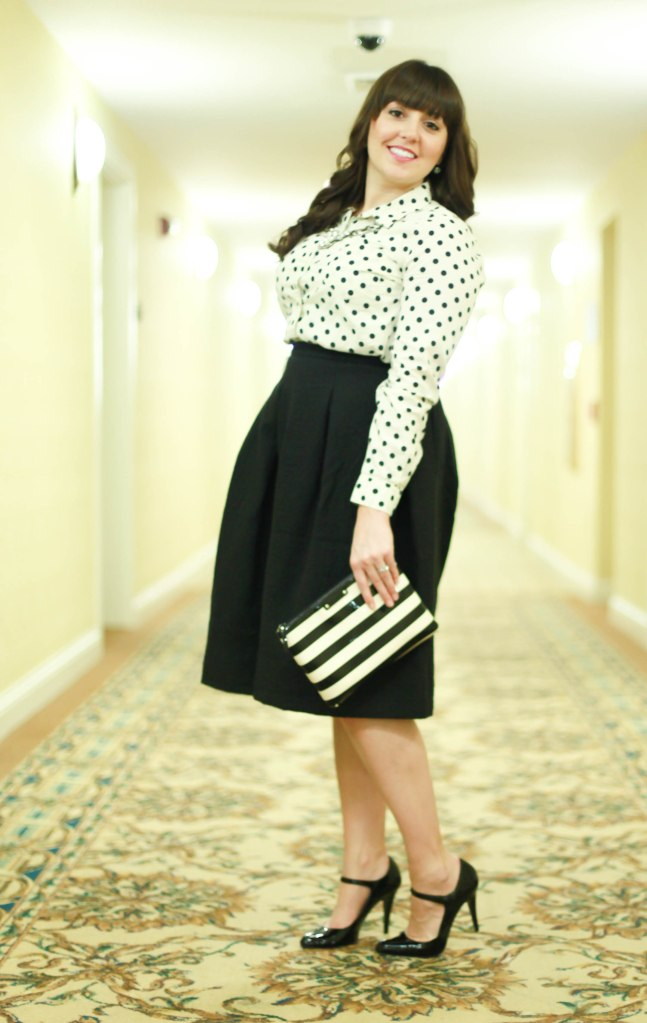 Holiday Ready In a Midi Skirt