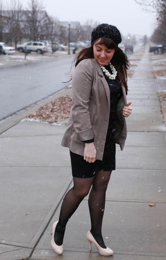 Menswear Inspired + Pearls