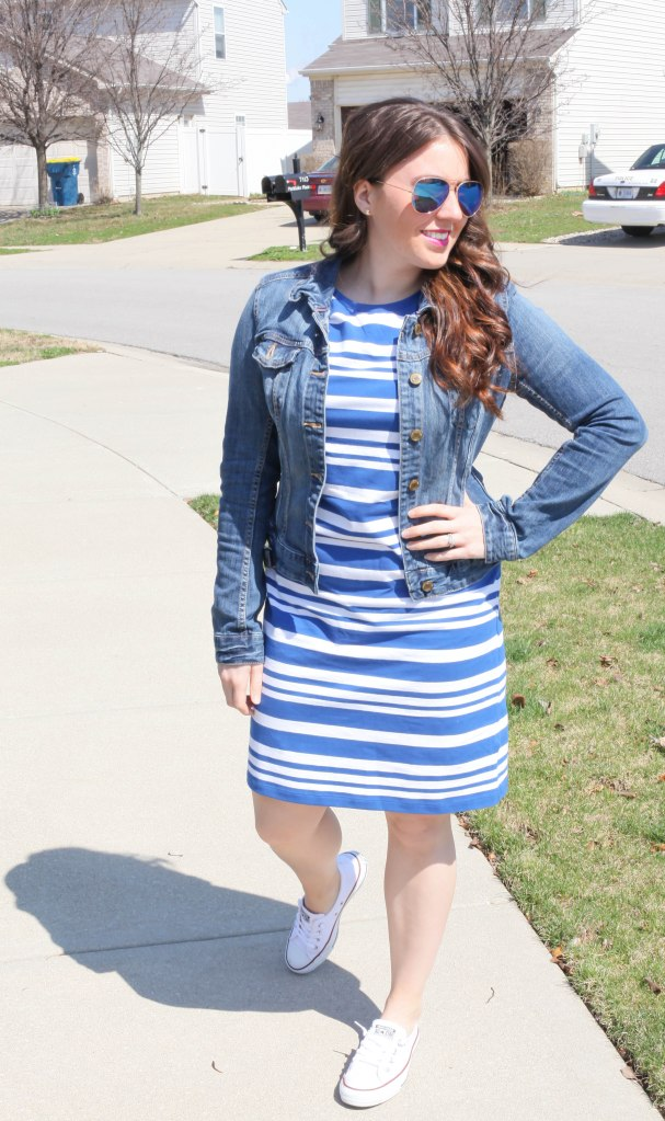 Dressing in Sporty Stripes