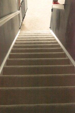 DIY stair makeover