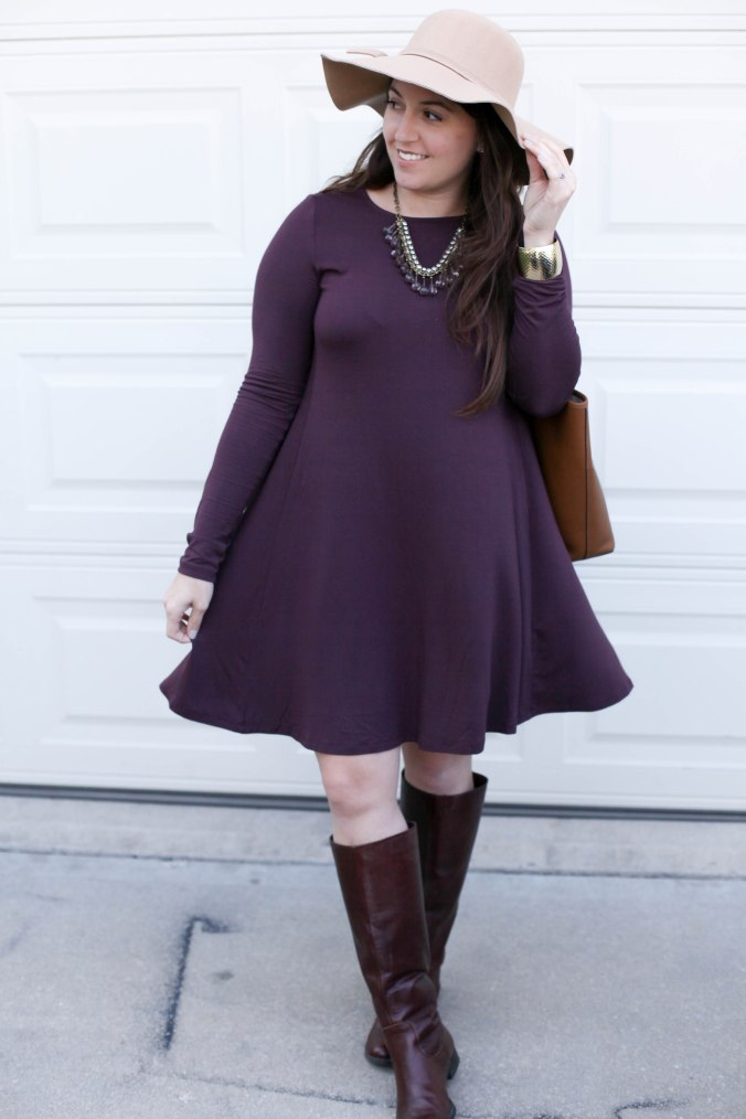 Fall Swing Dress