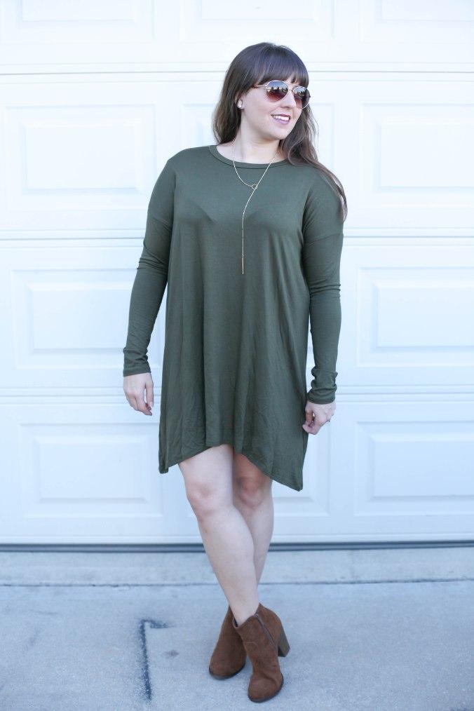Simple Olive Look